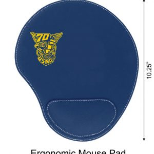 Blue-Ergonomic-Mouse-Pad-Imprinted-in-Gold