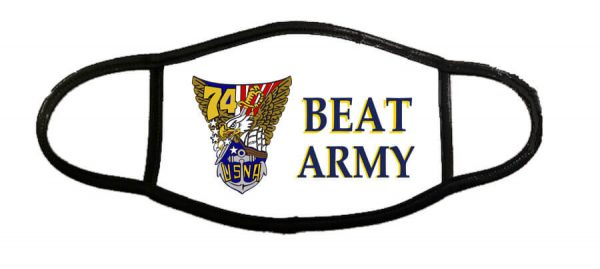 Beat Army Face Mask