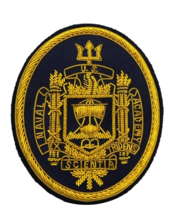 USNA Logo Blazer Patch
